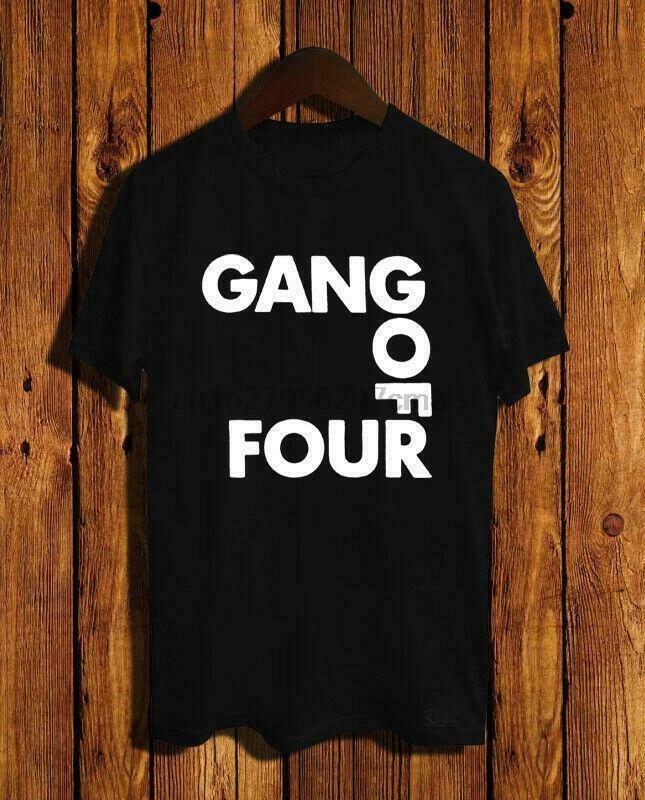 New Gang Of Four T-shirt tamanho S M L XL 2XL 3XL T EUA Tamanho Em31