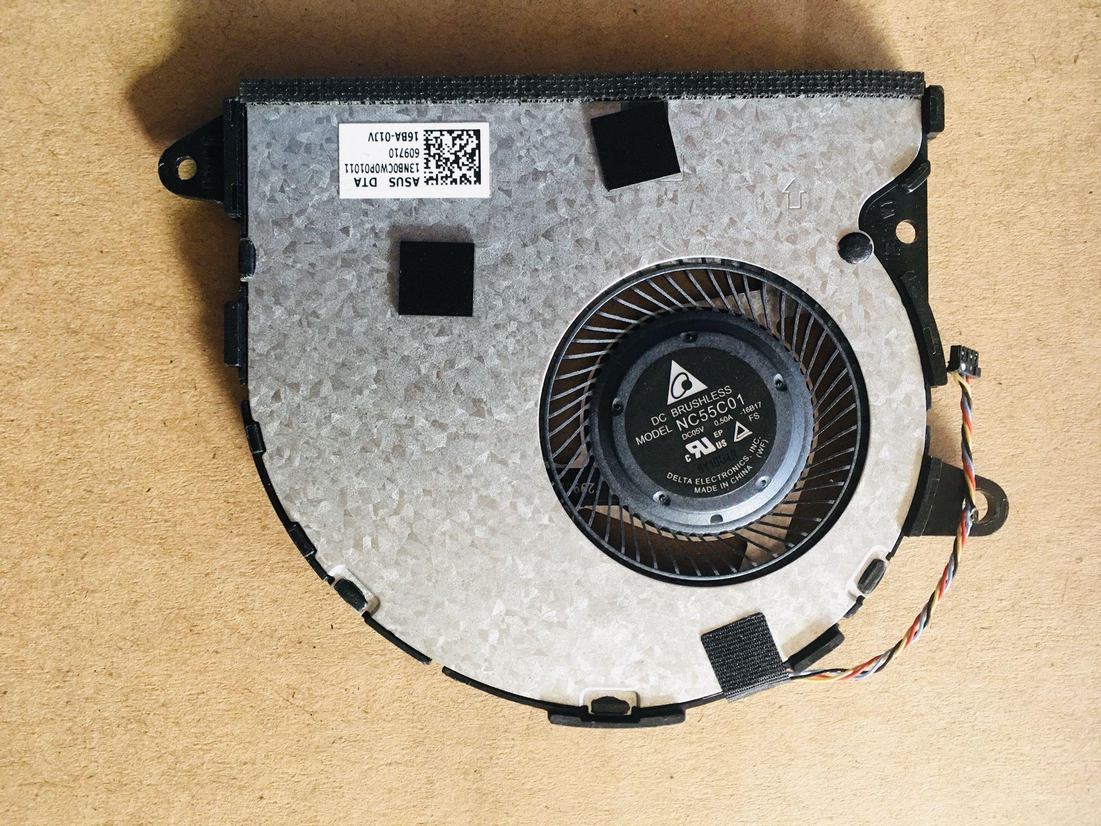 Original NEW Original für Asus Zenbook UX330U UX330 Lüfter 13NB0CW0P01011 NC55C01-16B17 Test gut freies Verschiffen