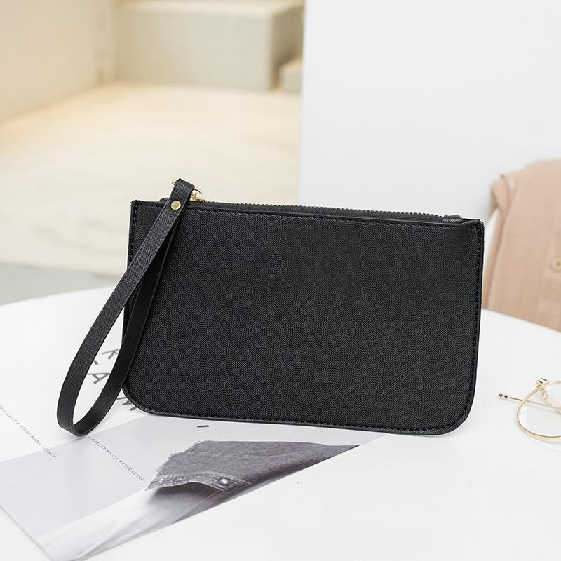 Yeni-Wristlets cüzdanlar Debriyaj Çanta kartı sahibi Kimlik Kartı telefon telefon kadınlar için Coin Çantalar pu 6 renkler bize marka 8887