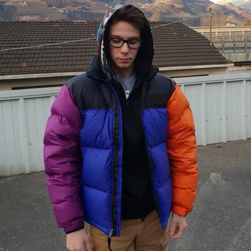 chaqueta para hombre abrigo de invierno ropa de algodón al aire libre abrigo deportivo chaqueta de alta calidad para hombre bordado de la chaqueta abajo