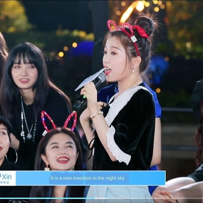 SH7SW Yu Shuxin Top Doll Clothes stessi vestiti di nicchia disegno del manicotto senso alto stile corte collare bambola delle donne maglietta nera delle donne francesi