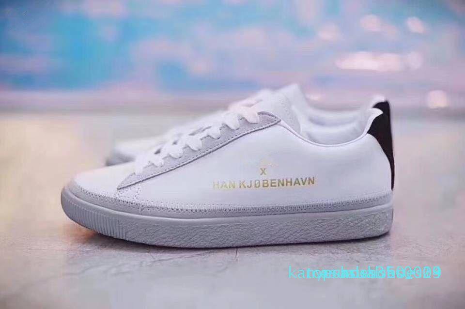 1Han Kjobenhavn x Clyde Cousu pour hommes et femmes Chaussures Casual Baskets basses Couples Plate-forme Chaussures taille 36-44 K14