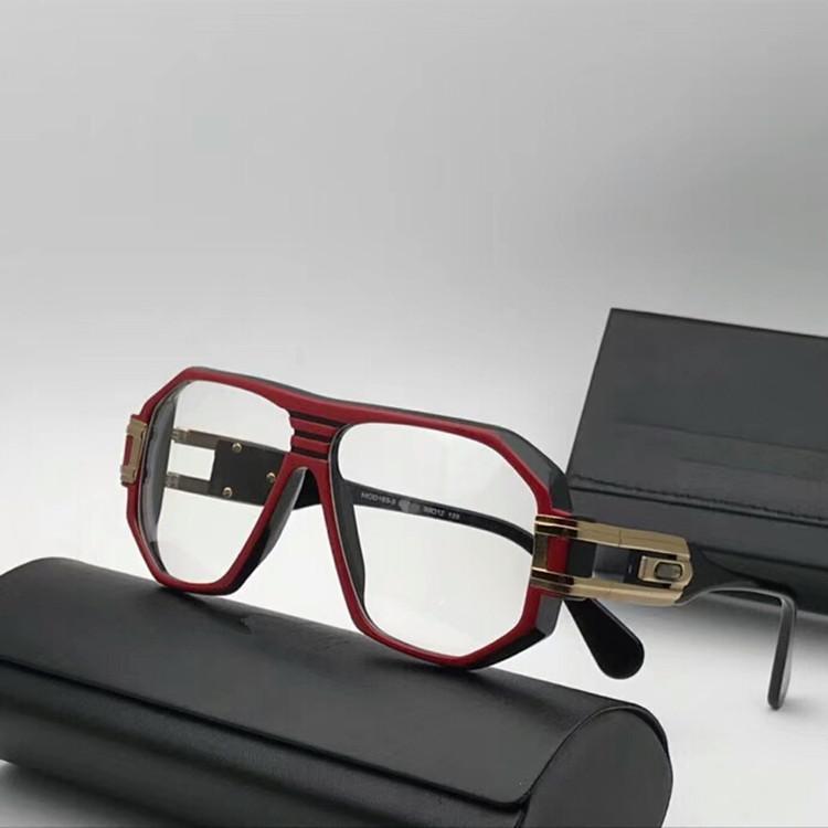 estilo de la moda piloto calidad de la marca 163 gafas de sol de marco perfecto tablón + diseño de metal unisex gafas de prescripción ANTI-UV400 con el caso Set completo