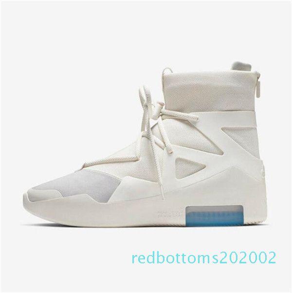 2020 Fear Of God Luce Bone Nero Arancione Scarpe Uomo Donne FOG Moda Nebbia cuscino scarpe da tennis casuali calza il formato 7-12 R02
