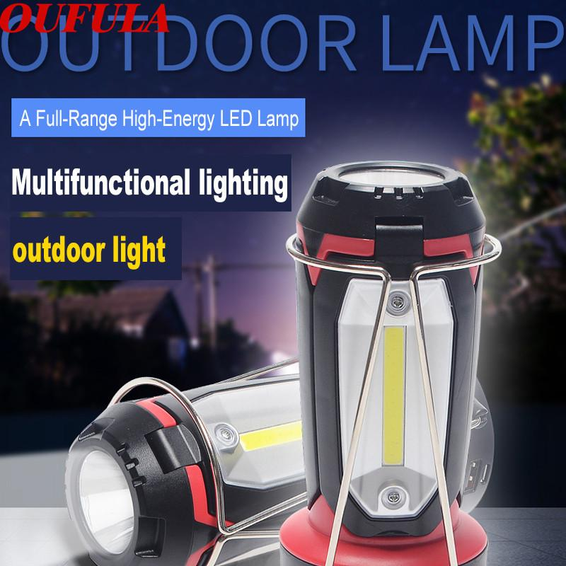 USB Rechargeable Outdoor Portable Lights Battery Camping Led lantern Hunting Hiking Emergency Energy Lamp Led Lighting Lantern