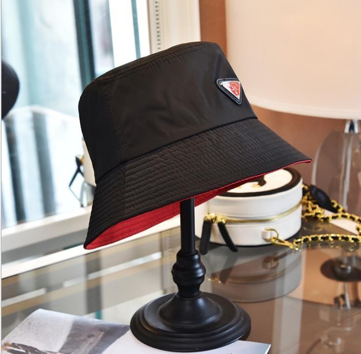 20SS New Eimer Hut für Männer und Frauen Mode Klassische Designer Frauen Nylon Hut Neue Herbst Frühling Fischer Hut Sun Caps Drop Ship