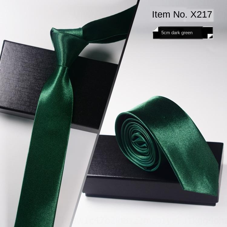 Komşu Komşu siyah erkekler kravat iş resmi kravat damat düğün Kore tarzı iş kariyer gümüş grisi Siyah