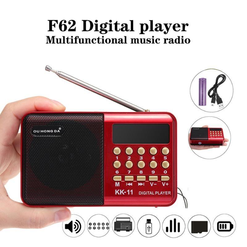 Ev usb taşınabilir modül 220 v fm anten Stereo alıcı İki yönlü taşınabilir bluetooth hoparlör radyolar portatil mini radyo