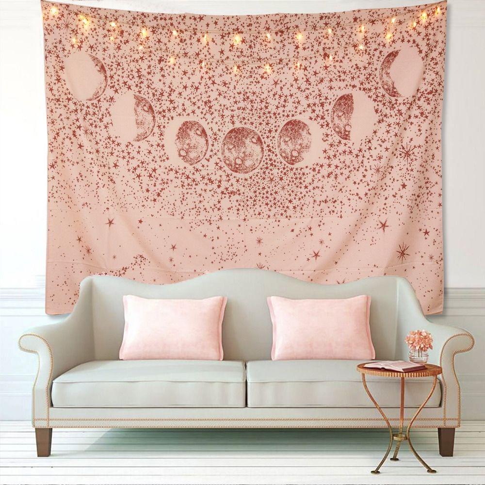 Moda Donna stampato pianeta pink tappeto arazzo delle donne della spiaggia di modo stampato pianeta pink arazzo stuoia della spiaggia
