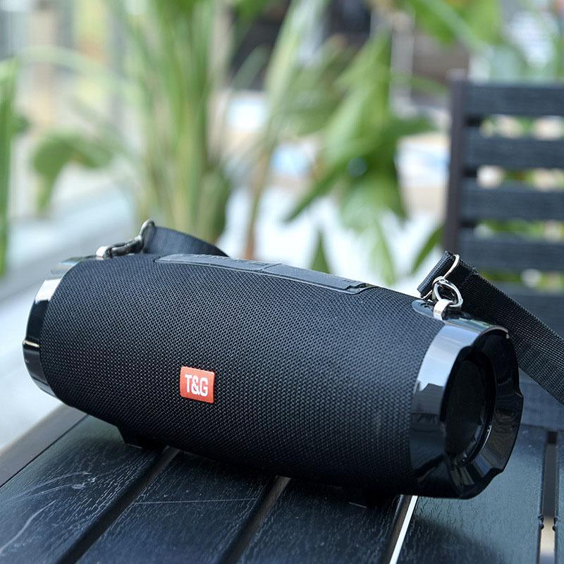 TG504 sem fio Bluetooth Speaker Coluna portátil impermeável ao ar livre Speaker 20W com FM estéreo Música Surround baixo Subwoofer Box