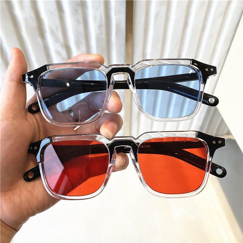 GIAUSA Fashion Square Sonnenbrille Frauen Designer Luxus-Mann / Frauen ins Auge Sonnenbrille der klassischen Weinlese im Freien