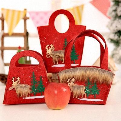 Kreative Tuch Geschenk Frohe Weihnachten Beuter Dekor Weihnachten Geschenk-Taschen-Schneemann des neuen Jahres Supplies Zuhause-Party-Dekor Chris 75bT #