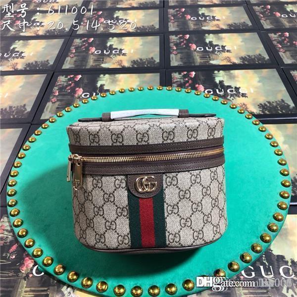 2020 bolsas de las mujeres de lujo de los bolsos del bolso de hombro Crossbody Monedero de calidad superior de cuero auténtico 611.004 Tamaño 20.5x14.5x20cm con la caja