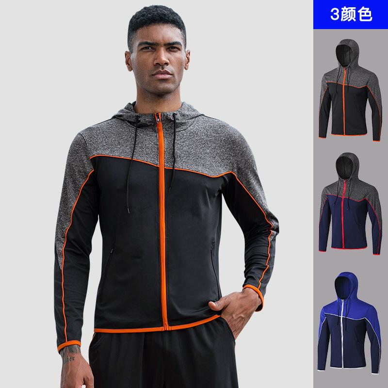 الخريف رجال الرياضة سترات فضفاضة كم طويل هوديي أبلى Sweeatshirt عداء ببطء التدريب تجريب تشغيل عارضة سترة رياضية