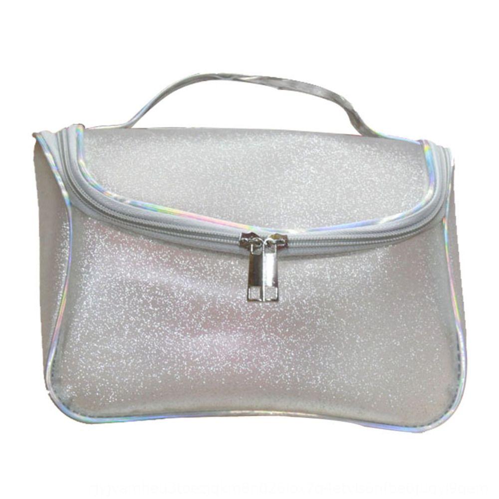 Yiwu PVC transparente de grande capacidade de armazenamento cosméticos saco de armazenagem de cosméticos saco impermeável 4Uckw