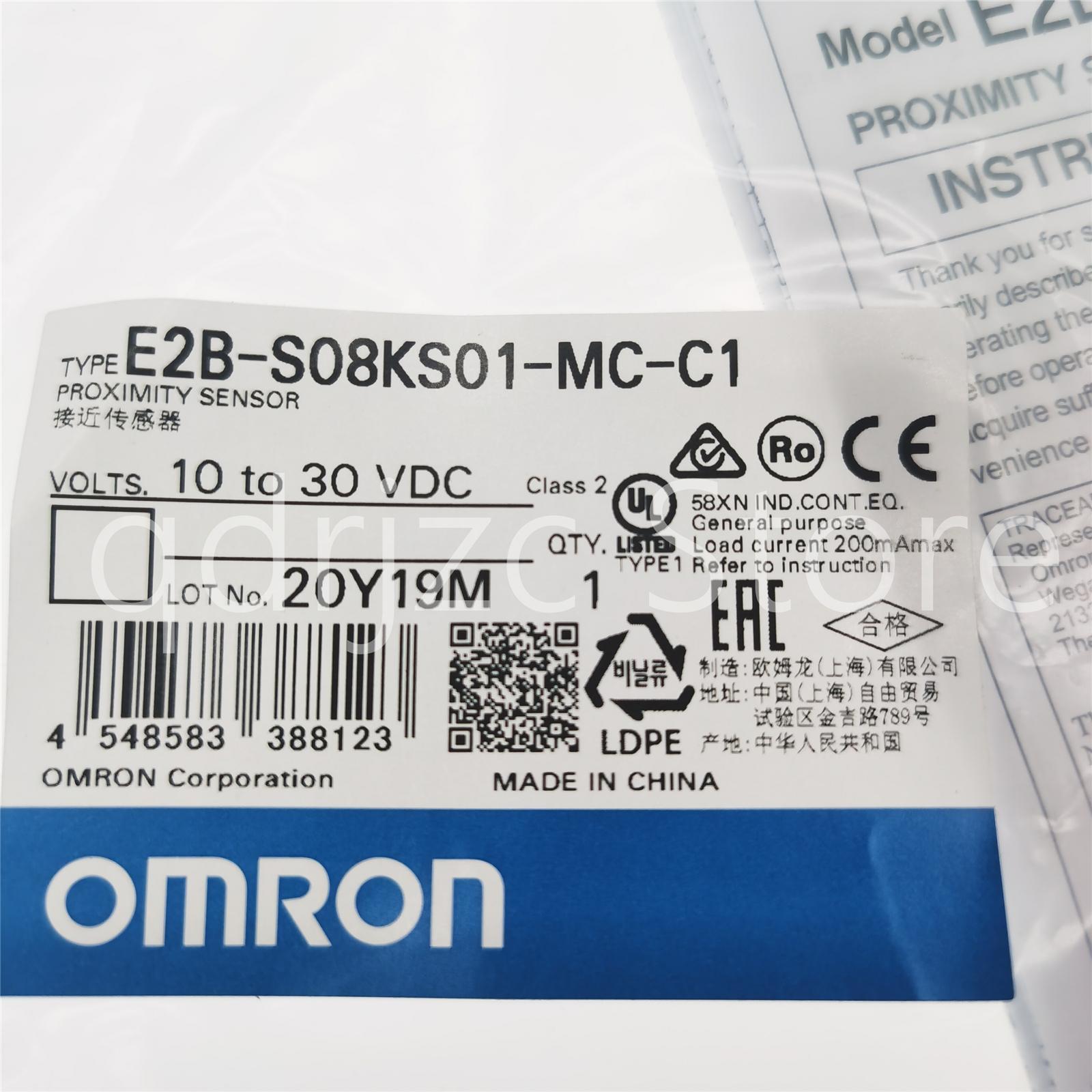 enfoque OMRON sensor E2B-S08KS01-MC-C1
