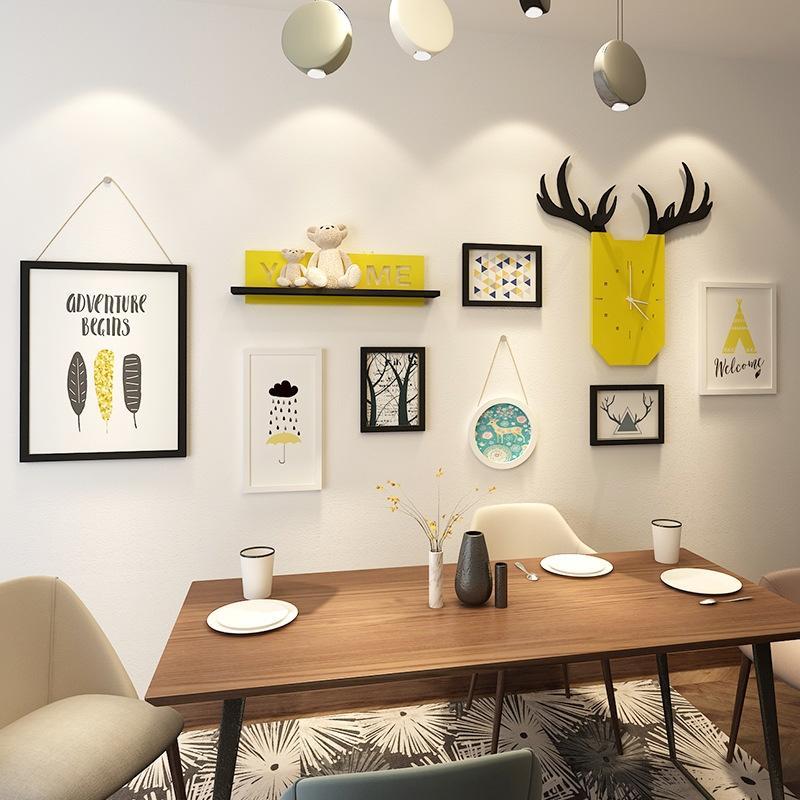 Nordic vita semplice sala da sfondo decorazione Nordic semplice decorazione creativa camera da letto ornamenti parete della stanza della parete ornamenti 7RVSC
