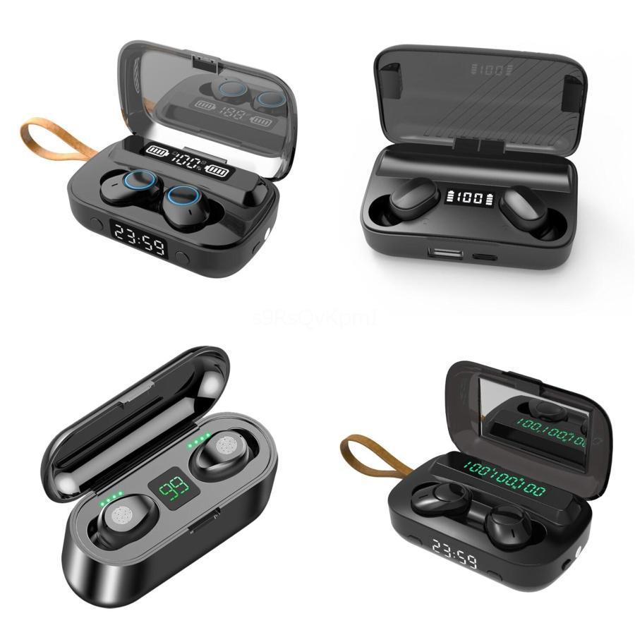 Kulaklık Bluetooth 5.0 Kablosuz Kulaklık Manyetik Gerdanlık Kulaklık IPX5 Su geçirmez Spor Kulaklık ile Gürültü Önleyici Mikrofon # 330