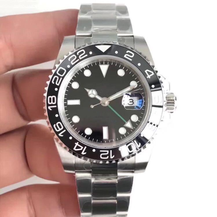 EW производит высокого качества 40mm мужские часы 2836 полноавтоматическую механическое движение вблизи нижней мужские часы часы