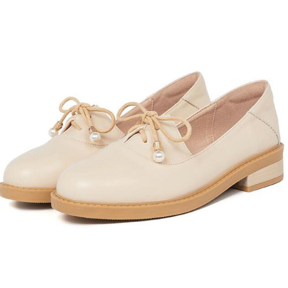 Yeni kadın ayakkabıları vahşi makosenler Kalın topuk küçük deri ayakkabı sonbahar Sığ ağız tek ayakkabı kadın zapatos de mujer ll661