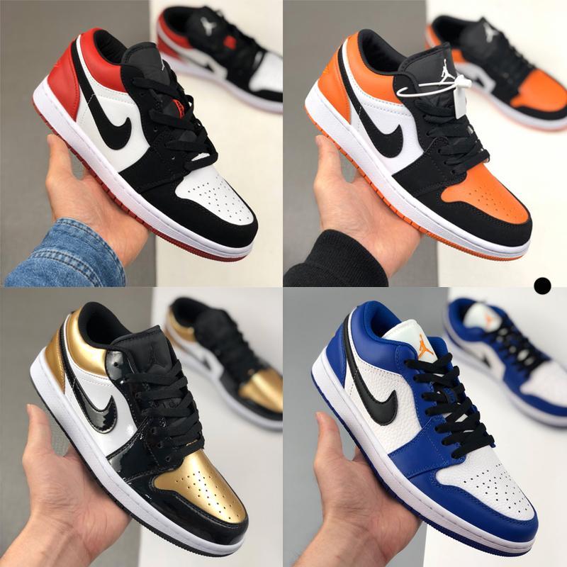Hombres de la moda las mujeres zapatillas de deporte de diseño j1 1s jd 1 alto jumpman deportivos skate zapatos de baloncesto entrenadores bajas Alpargatas azul