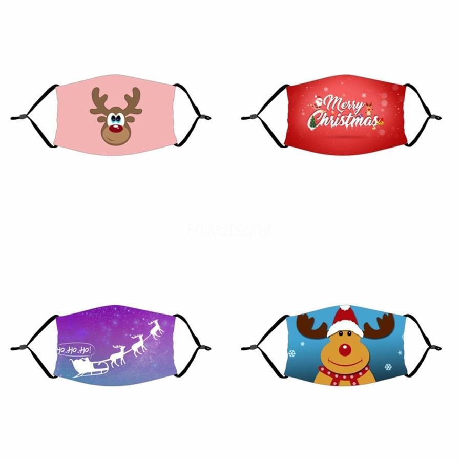 Máscaras Impresso Ciclismo adulto Impressão Máscara respirável EarloopWashable Prective contra pó Máscaras # 334