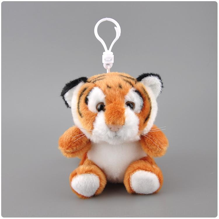 Simulation Simulation pendant coin purse doll plush toy yellow tiger White Tiger Doll Boy Girl backpack pendant RxpbH