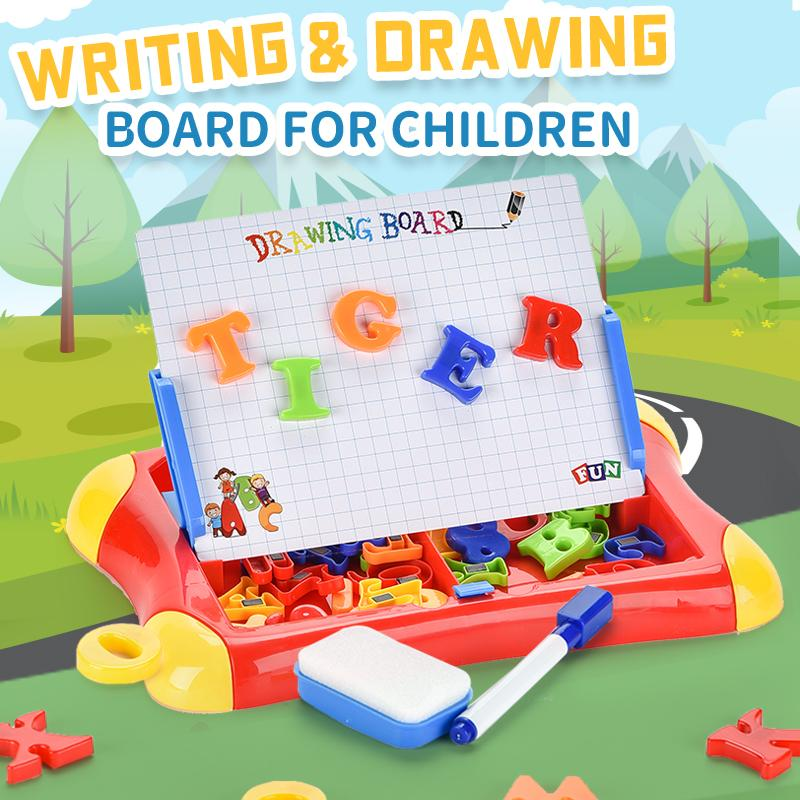 Erasable Magnetic Drawing Board for Kids Colorful Doodle Drawing Board Toys Gifts for Toddler Writing Sketching Pad easel
