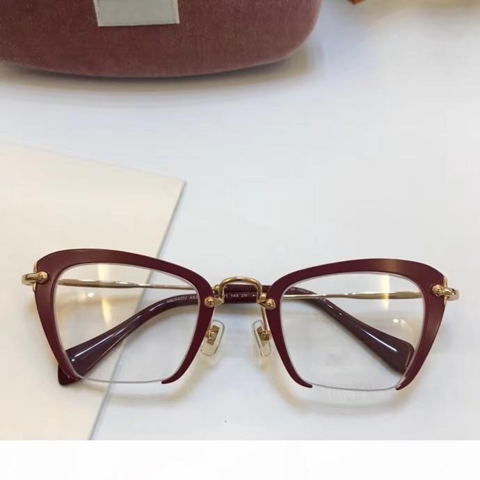 cadre lunettes femmes hommes designer marque montures de lunettes concepteur cadre lunettes de marque claire lentille de cadre masculin oculos 54QS et cas