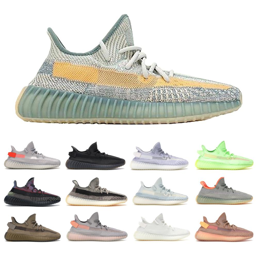 Livraison gratuite MCLAOSI SELL Kanye West meilleur chaussures de course avec Yecheil, Zyon, Zebra, Bred chaussures de sport statique, Top quality.AA1