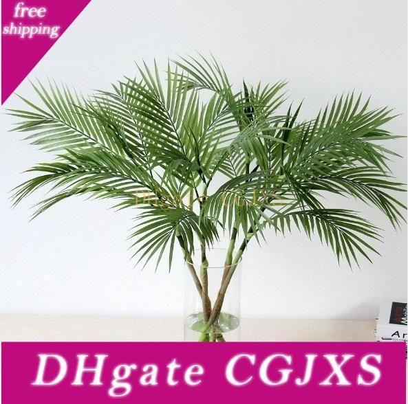 Árvore artificial plantas de plástico ramo tropicais falsificados Indoor plantas de plástico Árvore Jardim Home Decor não jarra