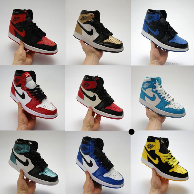 Hombres de la moda las mujeres zapatillas de deporte de diseño j1 1s jd 1 bajo alta jumpman zapatos de baloncesto de los deportes de skate entrenadores alpargatas barato