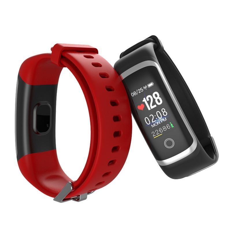 cgjxsM4 intelligente Bracciale monitor di frequenza cardiaca di 24 ore consecutive di monitoraggio impermeabile Banda Con frequenza cardiaca massima allerta