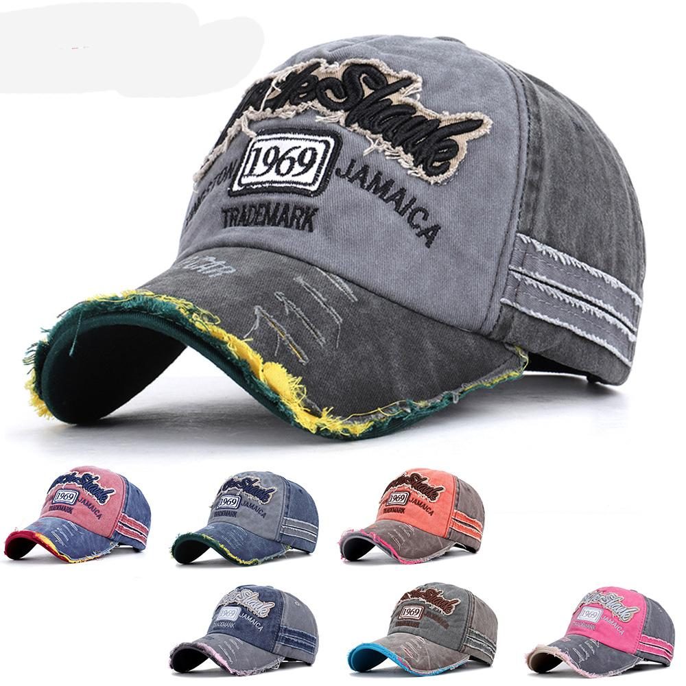 Yeni Bahar Yaz 1969 Beyzbol şapkası Vintage Snapback Şapka Trucker Pamuk Kadınlar Erkekler Ayarlanabilir Retro Baba Şapka Spor Gorras Kemik