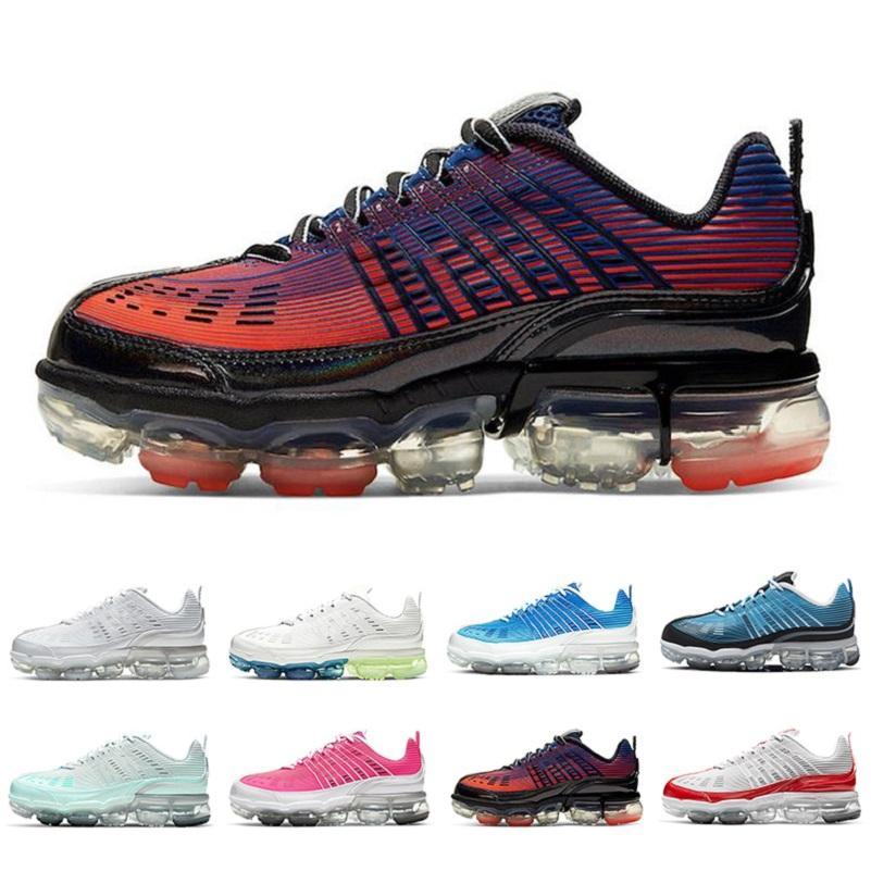nike air vapormax flyknit 360  mujeres Crema Hyper rosa del Aqua Light zapatos para hombre 360s entrenadores deportivos para trotar cojín zapatillas de deporte Zapatos correr