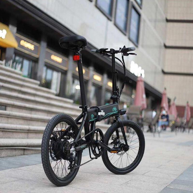 [EU Direct] FIIDO M1 D4S 36V 250W 12.5Ah 20 дюймов Складной мопед Электрический велосипед 24км / ч Максимальная скорость 80 км Пробег Электрический велосипед E-велосипед 2022