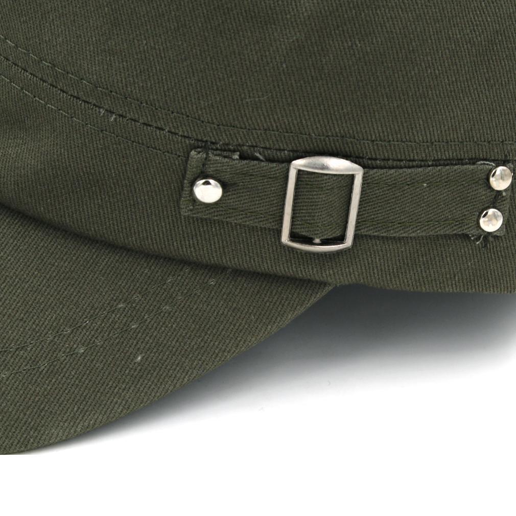 Мужской весна осень Army Military Patrol Cap Cadet Hat Combat Охота усталостное Headwear дышащего Бейсбол Вождение Snapback Hat