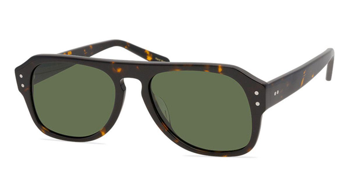 Homens polarizados óculos de sol marca tonalidades quadradas moldura sol óculos sechel new york polarizado cinza / escuro lentes verdes sol óculos com copos