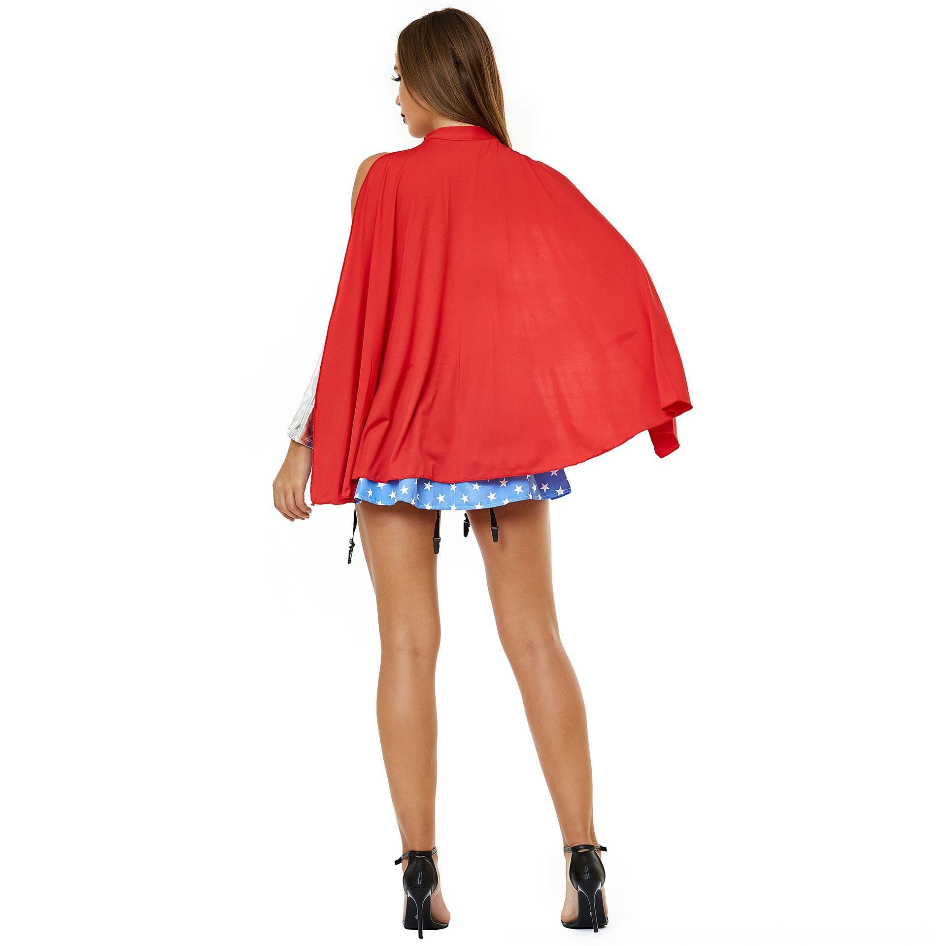 M-XXL clothing role playing Wonder Woman uniform cosplay lady Halloween Superman costume M-XXL clothing role playing Wonder Woman uniform co
