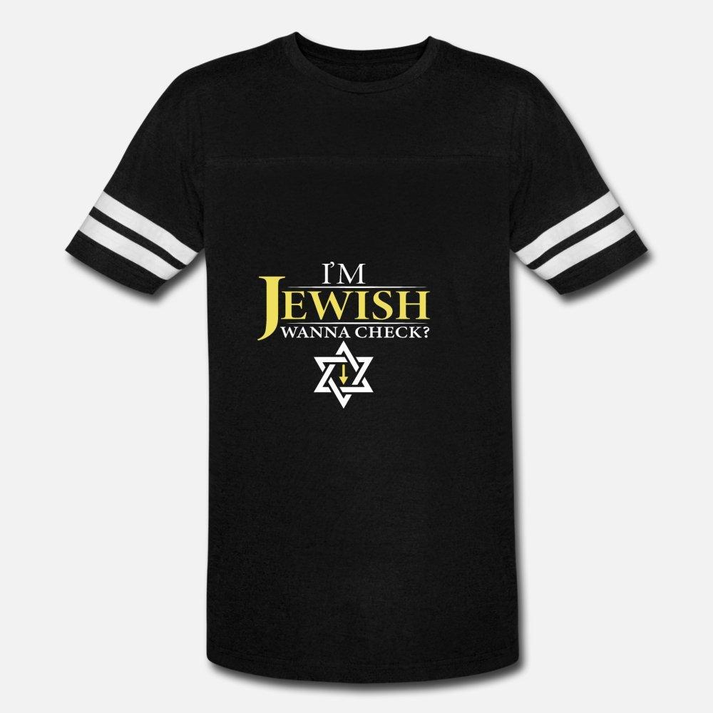 Je suis Wanna juive Check? Juif et Joker Cadeau T-shirt à manches courtes hommes Personnaliser S-XXXL Vêtements graphique authentique Lettres d'été T-shirt