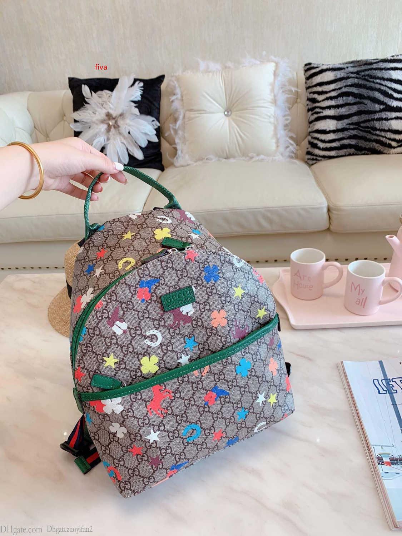 Erkekler Kadınlar TASARIMCISI Sırt çantaları Büyük Kapasiteli Moda Seyahat Çantaları okul çantalarını Klasik Stil Gerçek Deri Üst 0729 çocuk çanta, mini torbaları
