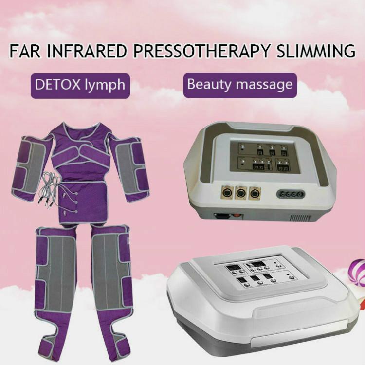 Accueil Salon pressothérapie minceur Machine pression d'air pour Masvelt Drainage lymphatique Detox Massage du corps gras Costume de perte