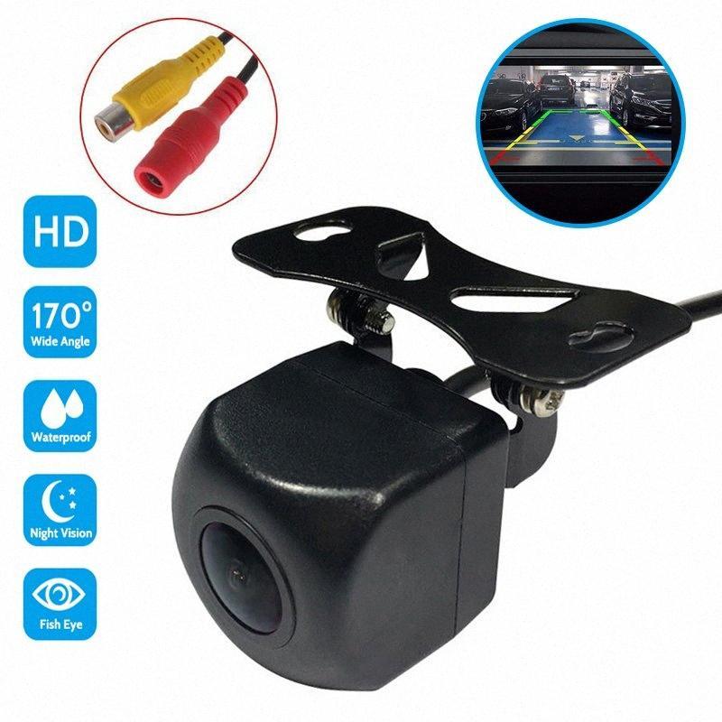 Full HD Arrière / Vue de face avec caméra 170 ° Télécabine Grand angle de vision nocturne caméra de recul Parking Moniteur étanche Set DHWf #