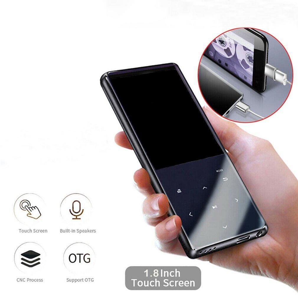 Los nuevos reproductores de MP3 Bluetooth 16 GB FM Radio HiFi MP4s Musikspielers mit 800mA Batería / OTG Grabadores reproductor de música MP3