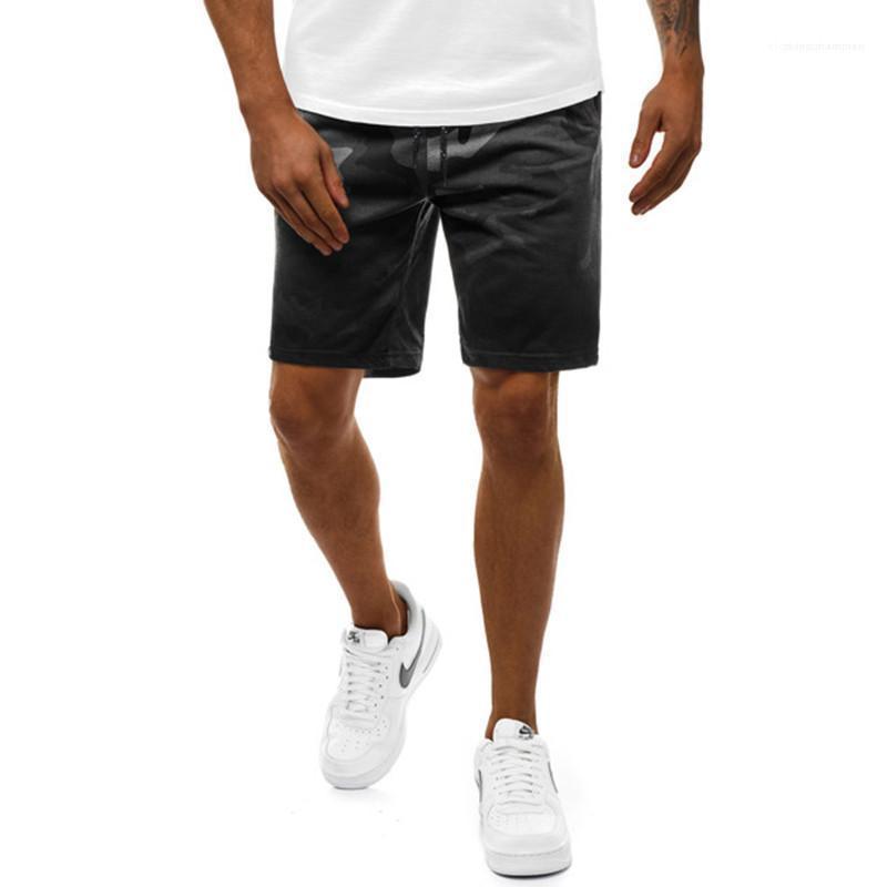 Longueur du genou Détendu Casual Pantalons Hommes Vêtements pour hommes Designer Camouflage Imprimer Short Shorts Mode couleur naturelle
