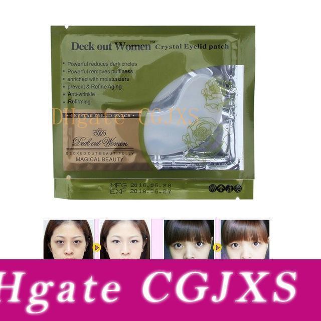 20000pcs Deck Out Women Crystal Eyelid Patch Crystal Collagen Eye Mask Remove Eye Dark Circles Moisturizing Eye Mask Beauty Item