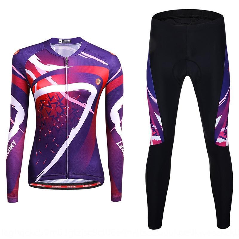 roupas LEOBAIKY venda quente roupas novas de ciclismo manga longa primavera terno feminino profissional e outono bicicleta bicicleta ciclismo
