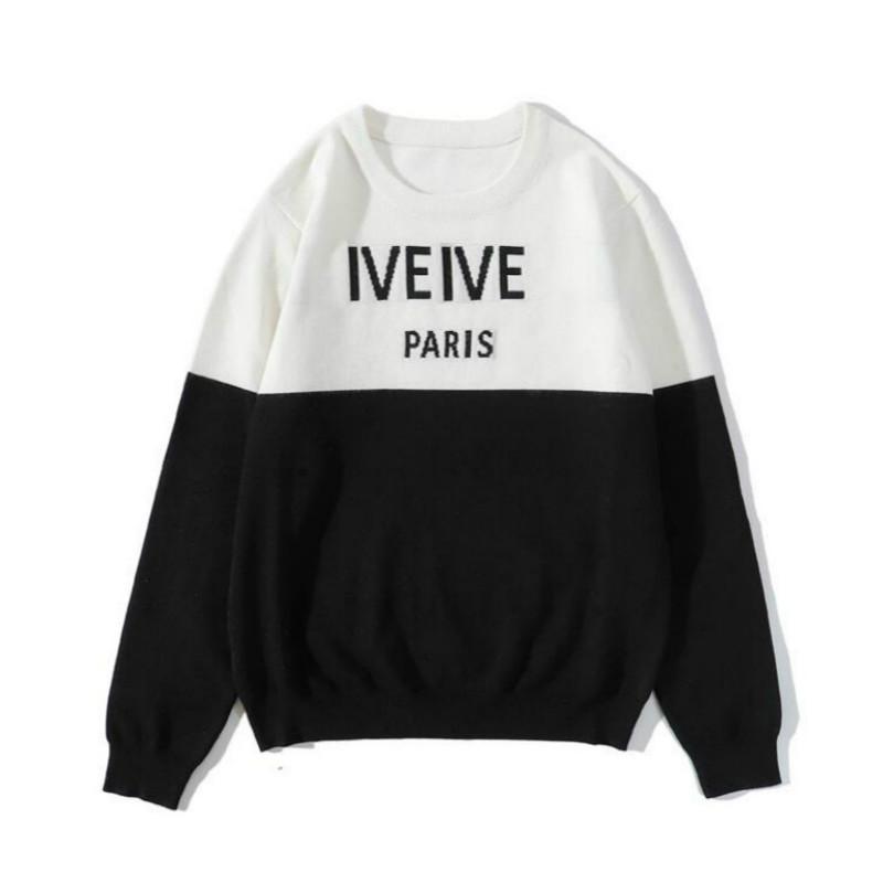 20FW Lettres Broderie Mode Hommes Pull vente chaude Pulls Sweat-shirt Vêtements pour hommes 2020 Nouveau gros