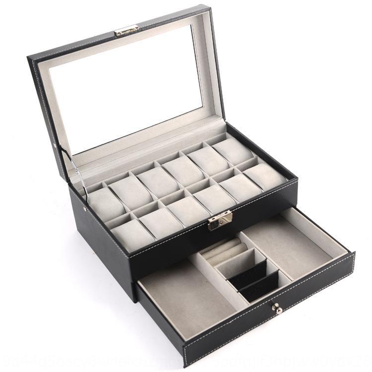 embalaje joyería del collar del collar de reloj portátil caja joyero reloj creativo BnaXx