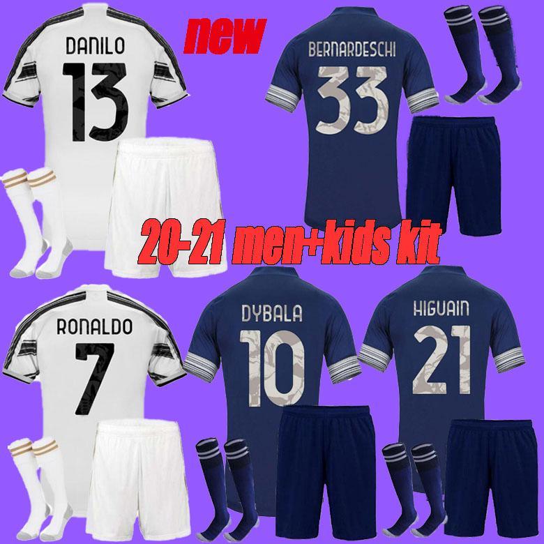 2020 2021 Juventus Soccer Jersey 2020 Juve Home Away Fourth Ronaldo Dybala Higuain Football Shirts Men Kids Kit Uniforms From Guangxuan201312 13 69 Dhgate Com